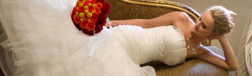 Designer wedding dress banner